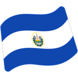 Flag: El Salvador on Google Android 7.0