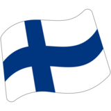 Flag: Finland on Google Android 7.0