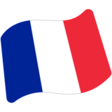 Flag: France on Google Android 7.0