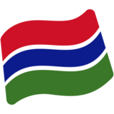 Flag: Gambia on Google Android 7.0
