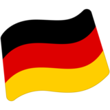 Flag: Germany on Google Android 7.0