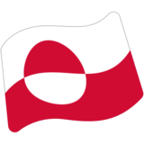 Flag: Greenland on Google Android 7.0