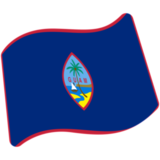 Flag: Guam on Google Android 7.0