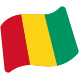 Flag: Guinea on Google Android 7.0