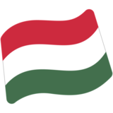 Flag: Hungary on Google Android 7.0