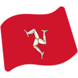 Flag: Isle of Man on Google Android 7.0