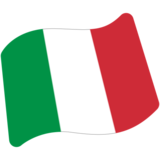 Flag: Italy on Google Android 7.0