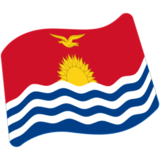 Flag: Kiribati on Google Android 7.0