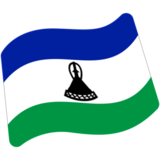 Flag: Lesotho on Google Android 7.0