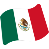 Flag: Mexico on Google Android 7.0