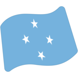 Flag: Micronesia on Google Android 7.0