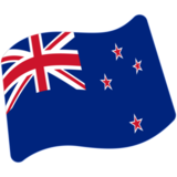 Flag: New Zealand on Google Android 7.0