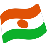Flag: Niger on Google Android 7.0