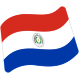 Flag: Paraguay on Google Android 7.0