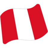 Flag: Peru on Google Android 7.0