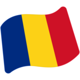 Flag: Romania on Google Android 7.0
