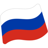 Flag: Russia on Google Android 7.0