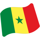 Flag: Senegal on Google Android 7.0
