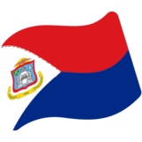 Flag: Sint Maarten on Google Android 7.0
