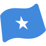 Flag: Somalia on Google Android 7.0