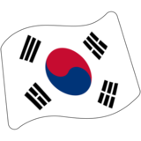 Flag: South Korea on Google Android 7.0
