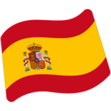 Flag: Spain on Google Android 7.0