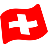 Flag: Switzerland on Google Android 7.0