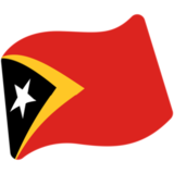 Flag: Timor-Leste on Google Android 7.0