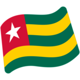 Flag: Togo on Google Android 7.0