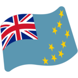 Flag: Tuvalu on Google Android 7.0