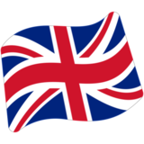 Flag: United Kingdom on Google Android 7.0