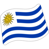 Flag: Uruguay on Google Android 7.0