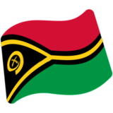 Flag: Vanuatu on Google Android 7.0