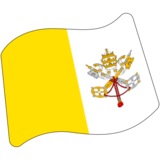 Flag: Vatican City on Google Android 7.0