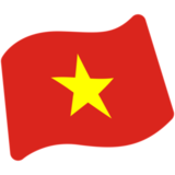Flag: Vietnam on Google Android 7.0
