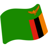 Flag: Zambia on Google Android 7.0