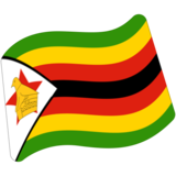 Flag: Zimbabwe on Google Android 7.0