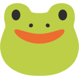 Frog Face on Google Android 7.0