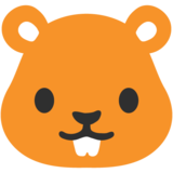 Hamster Face on Google Android 7.0