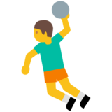 Person Playing Handball on Google Android 7.0