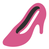 High-Heeled Shoe on Google Android 7.0