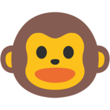 Monkey Face on Google Android 7.0