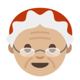 Mrs. Claus: Medium-Light Skin Tone on Google Android 7.0