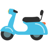 Motor Scooter on Google Android 7.0