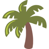 Palm Tree on Google Android 7.0