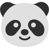 Panda Face on Google Android 7.0