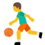 Person Bouncing Ball on Google Android 7.0