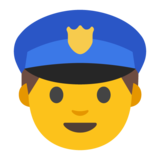 Police Officer on Google Android 7.0