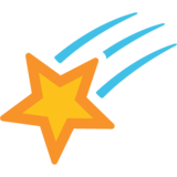Shooting Star on Google Android 7.0