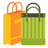 Shopping Bags on Google Android 7.0